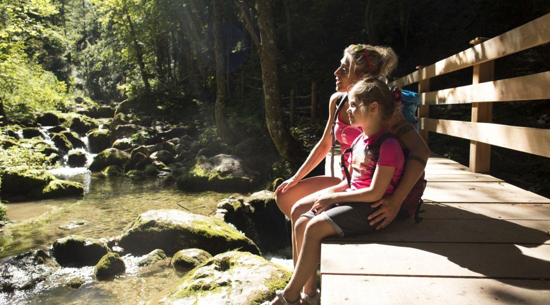 Sommerwanderung im Salzburger Saalachtal.