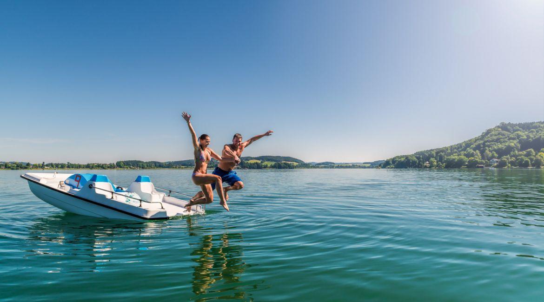 Wasserspaß im Salzburger Seenland