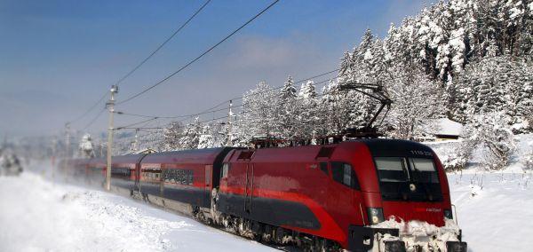 ÖBB Railjet Winter